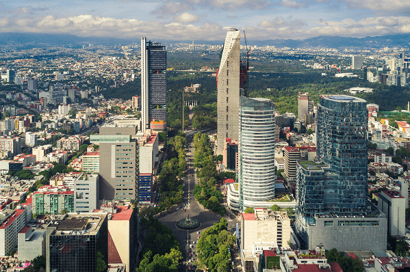 Asendia Mexico Destinations