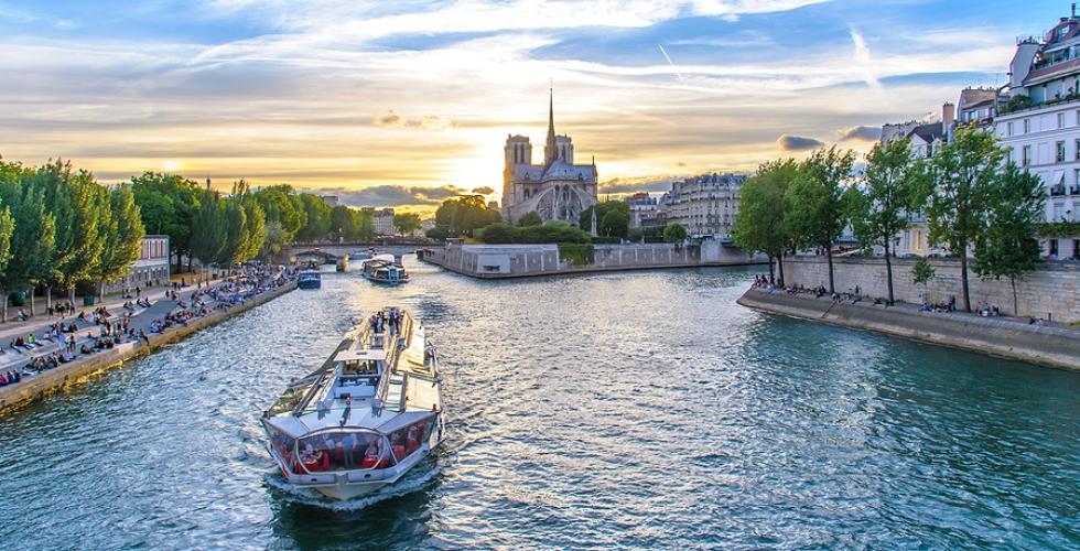 Paris France Landscape